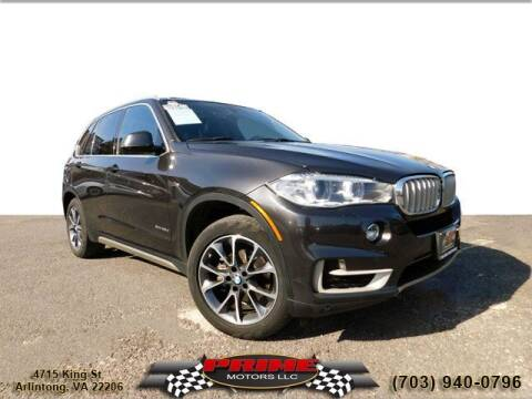 2017 BMW X5 for sale at PRIME MOTORS LLC in Arlington VA