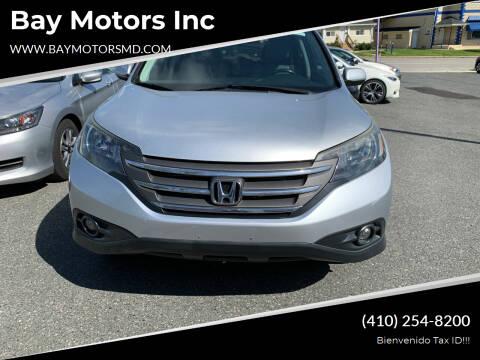2014 Honda CR-V for sale at Bay Motors Inc in Baltimore MD