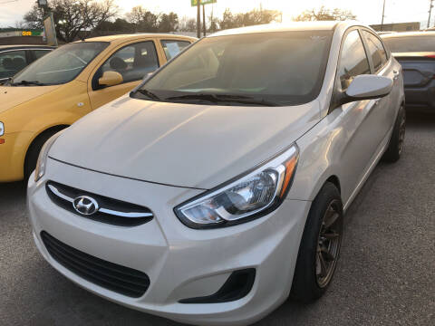 2017 Hyundai Accent for sale at Auto Access in Irving TX