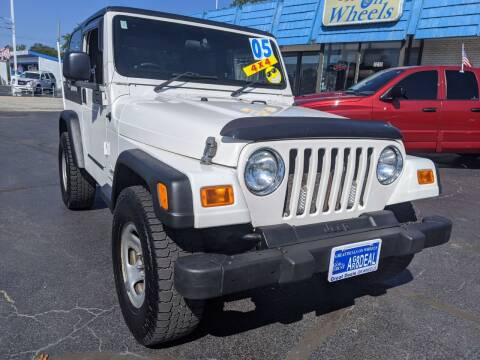 2005 Jeep Wrangler for sale at GREAT DEALS ON WHEELS in Michigan City IN