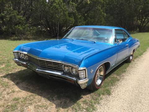 Used 1967 Chevrolet Impala For Sale Carsforsale Com