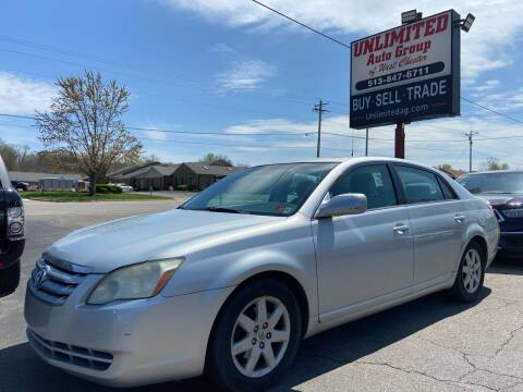 2006 Toyota Avalon for sale at Unlimited Auto Group in West Chester OH