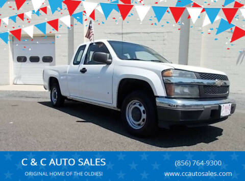 2008 Chevrolet Colorado for sale at C & C AUTO SALES in Riverside NJ