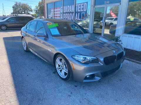 2016 BMW 5 Series for sale at Lee Auto Group Tampa in Tampa FL