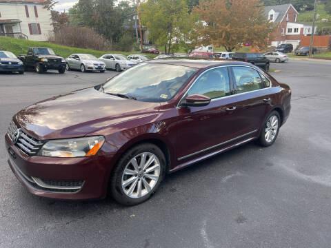 2012 Volkswagen Passat for sale at KP'S Cars in Staunton VA