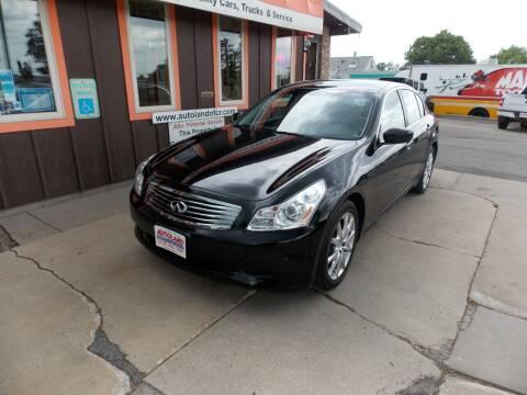 2009 Infiniti G37 Sedan for sale at Autoland in Cedar Rapids IA