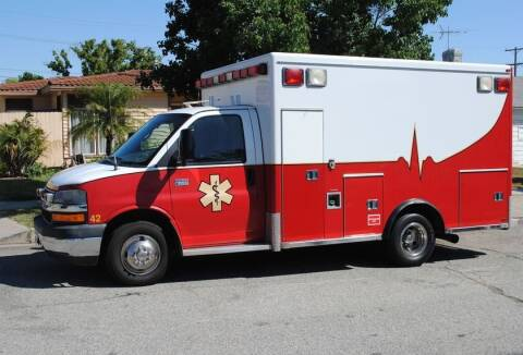 2008 Chevrolet G3500 for sale at Global Emergency Vehicles Inc in Levittown PA