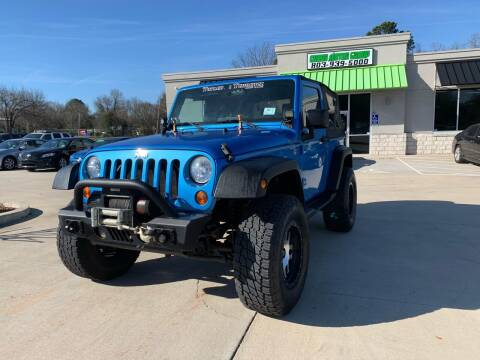 2010 Jeep Wrangler for sale at Cross Motor Group in Rock Hill SC