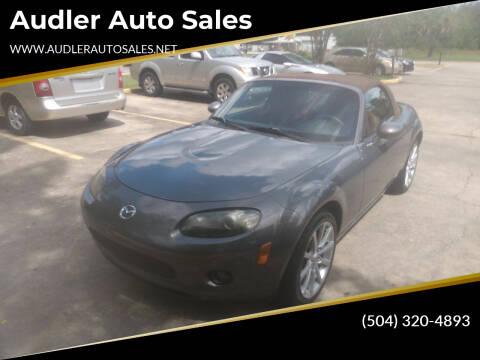 2007 Mazda MX-5 Miata for sale at Audler Auto Sales in Slidell LA