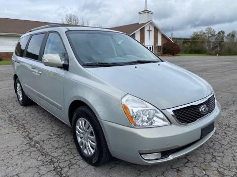 2014 Kia Sedona for sale at DETAILZ USED CARS in Endicott NY