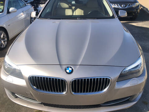 2011 BMW 5 Series for sale at Quality Wholesale Center Inc in Baton Rouge LA