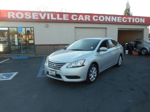2013 Nissan Sentra for sale at ROSEVILLE CAR CONNECTION in Roseville CA