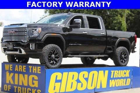 2021 GMC Sierra 2500HD for sale at Gibson Truck World in Sanford FL