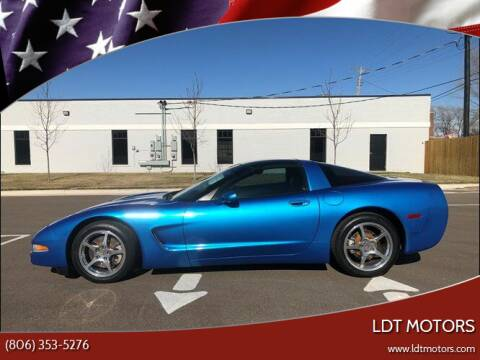 1997 Chevrolet Corvette for sale at LDT MOTORS in Amarillo TX
