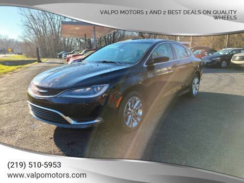 2015 Chrysler 200 for sale at Valpo Motors 1 and 2  Best Deals On Quality Wheels in Valparaiso IN