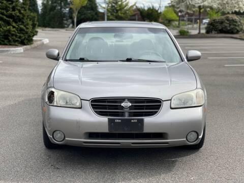 2001 Nissan Maxima for sale at Q Motors in Tacoma WA