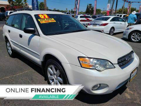 2007 Subaru Outback for sale at Super Cars Sales Inc #1 - Super Auto Sales Inc #2 in Modesto CA