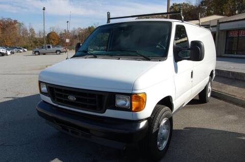 2007 Ford E-250 for sale at Modern Motors - Thomasville INC in Thomasville NC