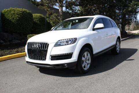 2011 Audi Q7 for sale at SS MOTORS LLC in Edmonds WA