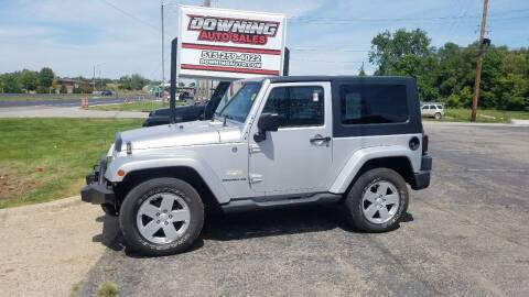2007 Jeep Wrangler for sale at Downing Auto Sales in Des Moines IA