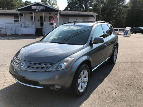 2006 Nissan Murano for sale at CVC AUTO SALES in Durham NC