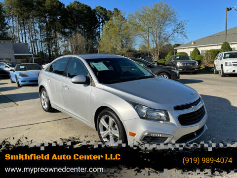 2015 Chevrolet Cruze for sale at Smithfield Auto Center LLC in Smithfield NC