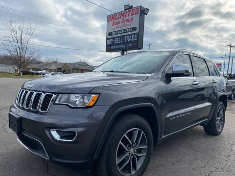 2017 Jeep Grand Cherokee for sale at Unlimited Auto Group in West Chester OH