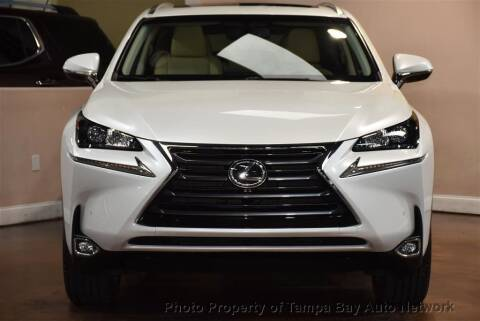 2017 Lexus NX 200t for sale at Tampa Bay AutoNetwork in Tampa FL