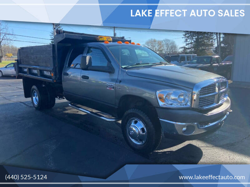 2007 Dodge Ram Chassis 3500 for sale at Lake Effect Auto Sales in Chardon OH