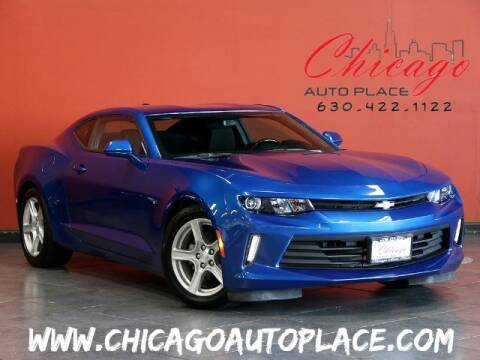 2017 Chevrolet Camaro for sale at Chicago Auto Place in Bensenville IL