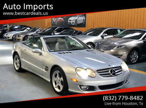 2007 Mercedes-Benz SL-Class for sale at Auto Imports in Houston TX