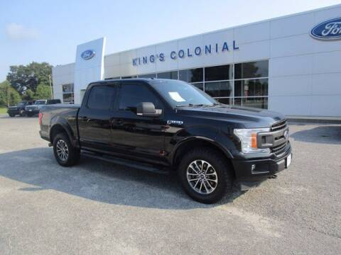 2018 Ford F-150 for sale at King's Colonial Ford in Brunswick GA
