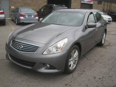 2013 Infiniti G37 Sedan for sale at ELITE AUTOMOTIVE in Euclid OH