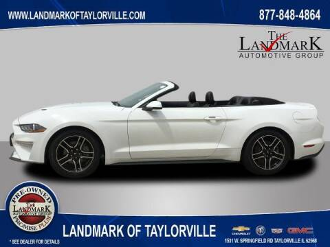 2018 Ford Mustang for sale at LANDMARK OF TAYLORVILLE in Taylorville IL