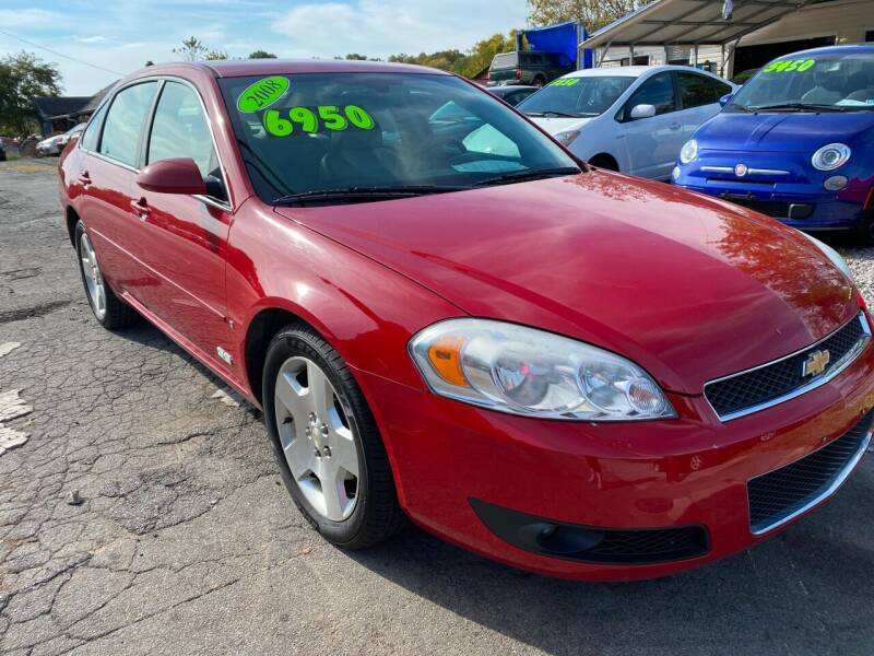 2008 Chevrolet Impala for sale at Rocket Center Auto Sales in Mount Carmel TN