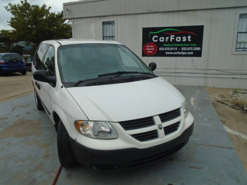2007 Dodge Caravan for sale at Carfast in Houston TX