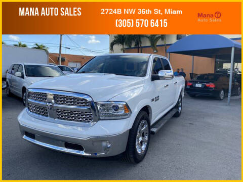 2016 RAM Ram Pickup 1500 for sale at MANA AUTO SALES in Miami FL