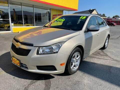 2013 Chevrolet Cruze for sale at Mega Auto Sales in Wenatchee WA