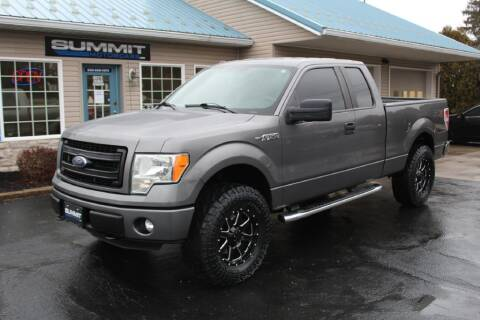 2014 Ford F-150 for sale at Summit Motorcars in Wooster OH