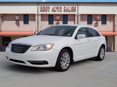 2012 Chrysler 200 for sale at Best Auto Sales LLC in Auburn AL