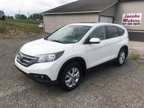 2013 Honda CR-V for sale at Jacobs Motors in Huntsville OH