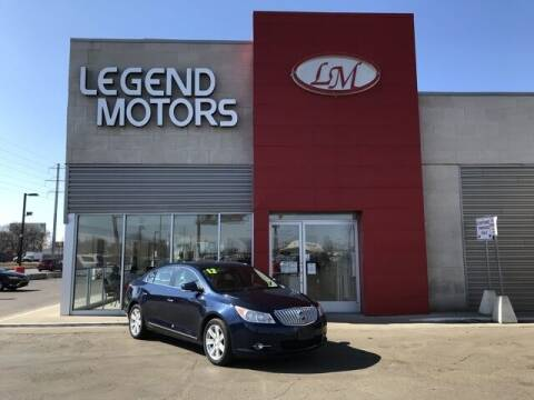 2012 Buick LaCrosse for sale at Legend Motors of Detroit - Legend Motors of Ferndale in Ferndale MI