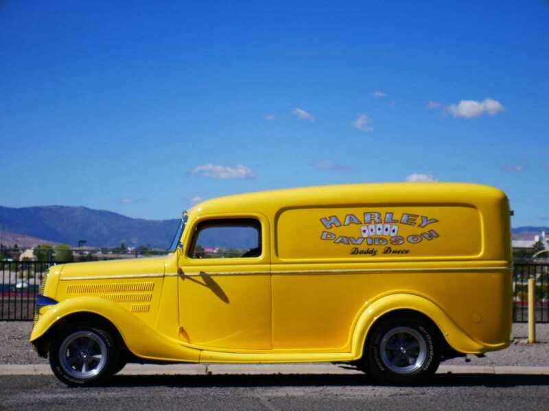 1937 Ford Half-Ton Panel Truck for sale at Sierra Classics & Imports in Reno NV