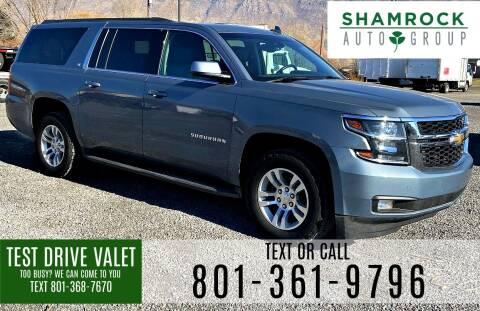 2016 Chevrolet Suburban for sale at Shamrock Group LLC #1 in Pleasant Grove UT