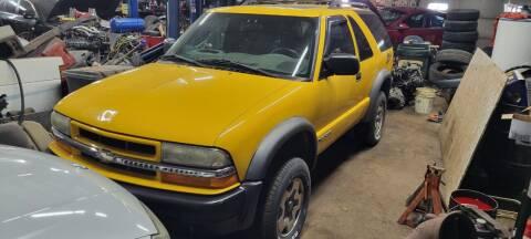 2004 Chevrolet Blazer for sale at AMAZING AUTO SALES in Marengo IL