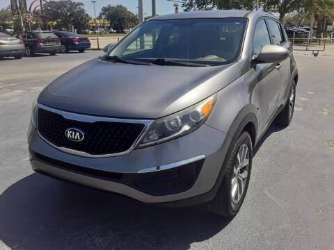 2016 Kia Sportage for sale at YOUR BEST DRIVE in Oakland Park FL