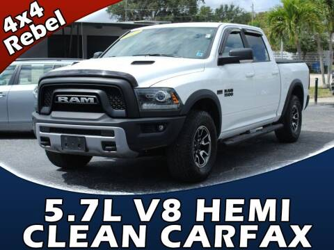 2017 RAM Ram Pickup 1500 for sale at Palm Beach Auto Wholesale in Lake Park FL