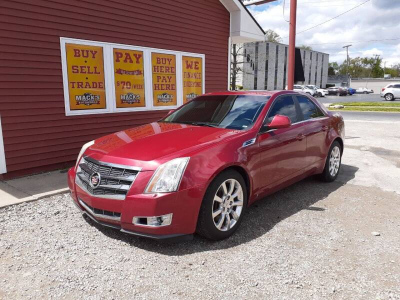 2008 Cadillac CTS for sale at Mack's Autoworld in Toledo OH