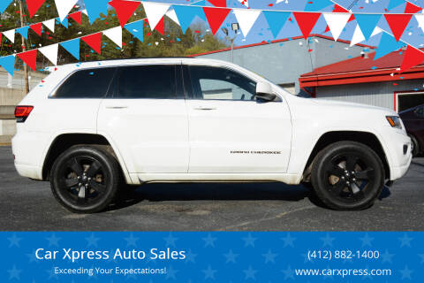2015 Jeep Grand Cherokee for sale at Car Xpress Auto Sales in Pittsburgh PA