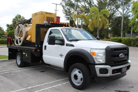 2011 Ford F-550 Super Duty for sale at Truck and Van Outlet in Miami FL